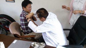 大久保インフル予防
